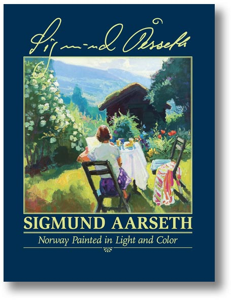 Norway Painted in Light and Color Book Cover